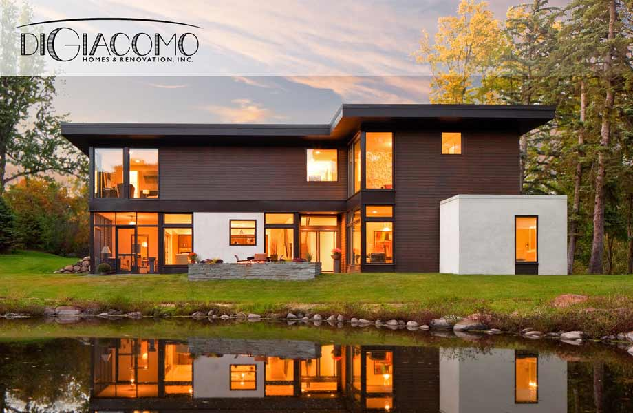 Minneapolis Custom Built New Home By Award Winning Design Build Company DiGiacomo Homes