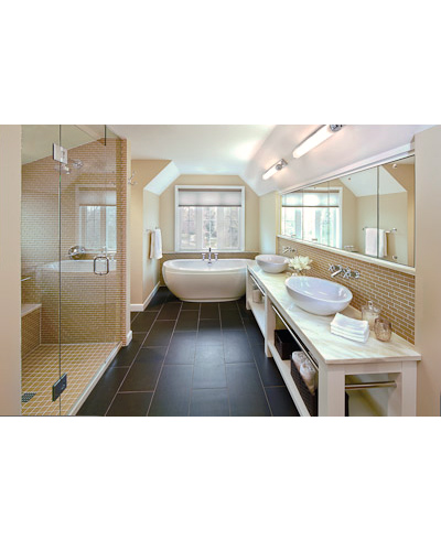 Modern Classic Master Bath Addition Suites Baths